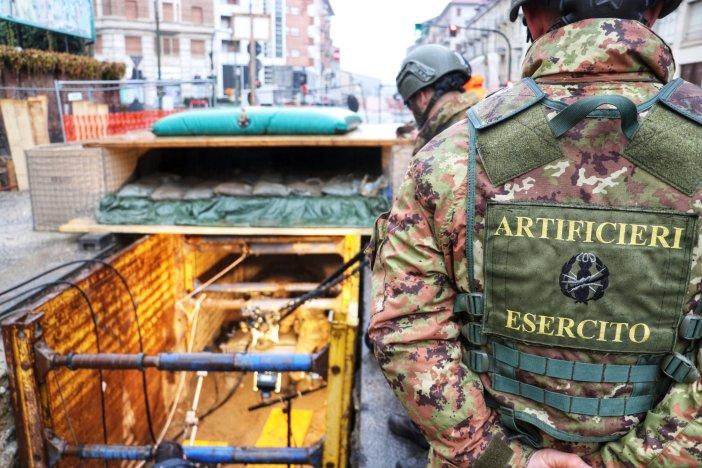 Esercito, terminate le operazioni di bonifica a Torino
