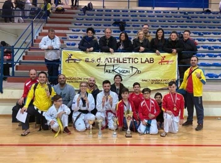 Taekwondo: L'Athletic Lab si aggiudica il Trofeo Dicearchia