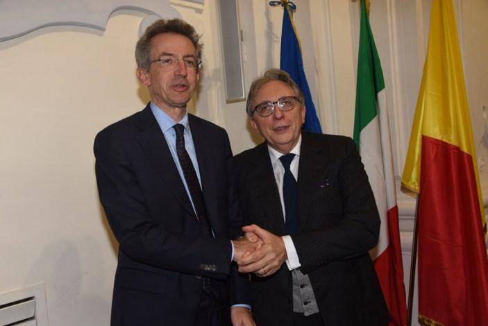 Il Ministro Manfredi inaugura l'Anno Accademico del Suor Orsola Benincasa