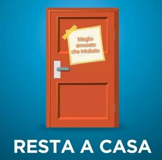 Al via #restiamoacasa live