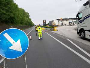 Covid 19: Anche personale ANAS in supporto alla Polstrada