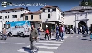 Treviso, prove generali di fase 2