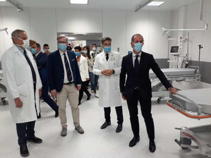 Nuova rianimazione e gruppo operatorio all'ospedale di Feltre