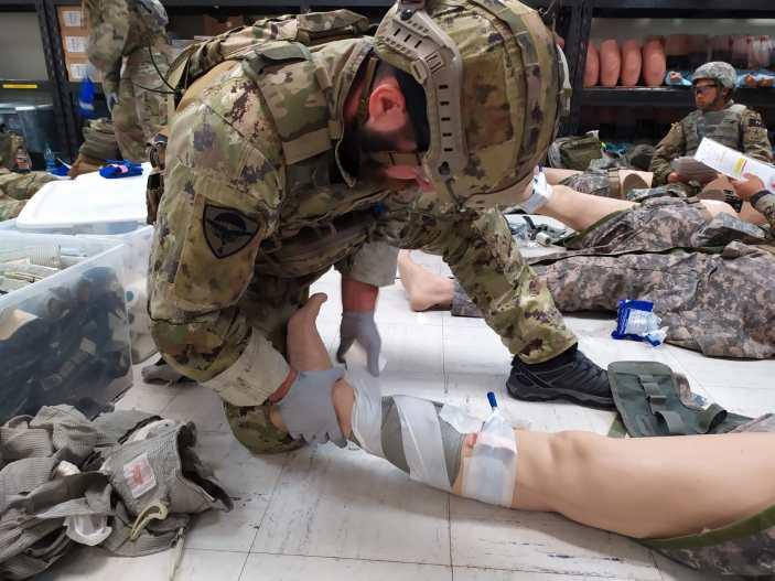 Operatore delle Forze Speciali dell'Esercito primo al SOCM