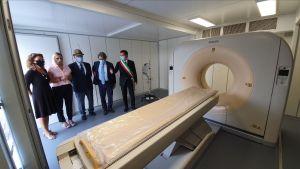 Una nuova TAC per l'Ospedale da Campo di Bergamo