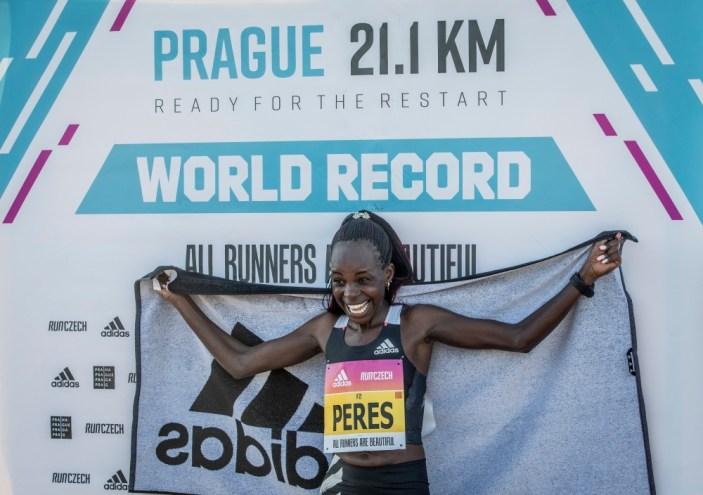 Praga 21,1 km: Record mondiale della mezza