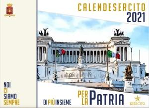 """Calendario 2021: l'Esercito """"Per la Patria"""""""