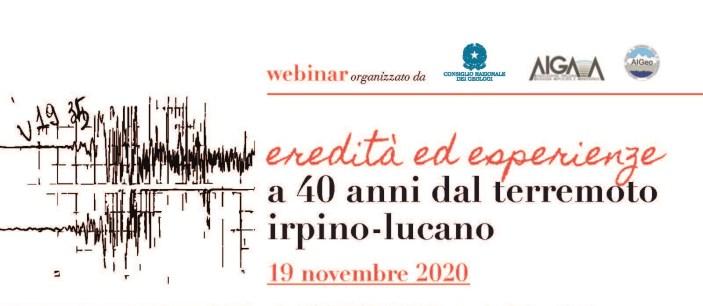 40° anniversario terremoto Irpinia, i geologi: Così nacque la Protezione Civile