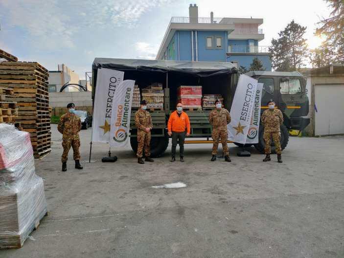 Solidarietà dai militari di Persano