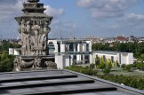 Bundeskanzleramt vom Reichstag aus