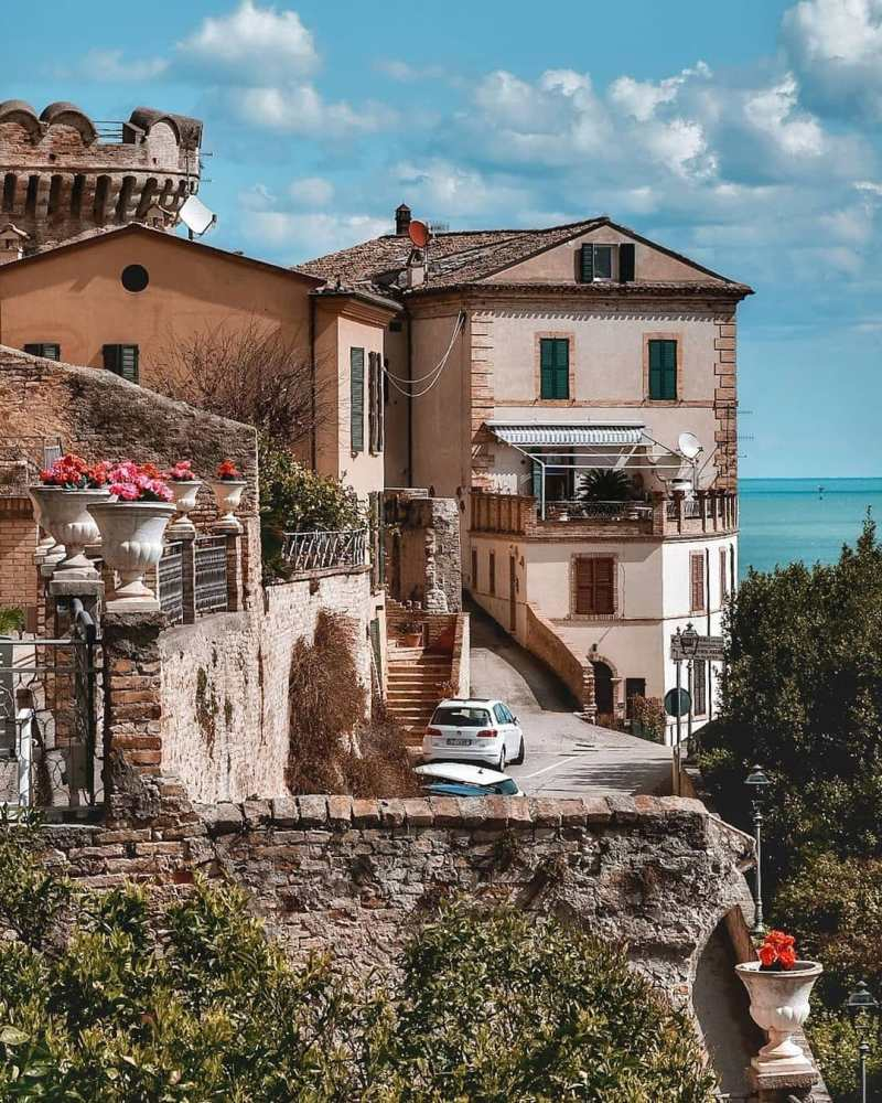 Grottammare borgo italia centro