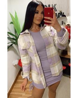 Sobre camisa Lila 0302