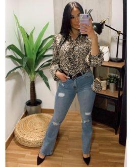 Camisa leopardo 1503