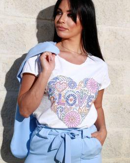 Camiseta love 2603