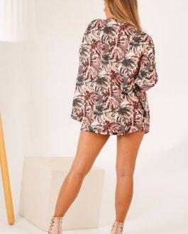 Kimono +Short estampado 2604
