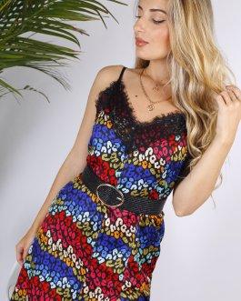 Vestido midi colores 0405