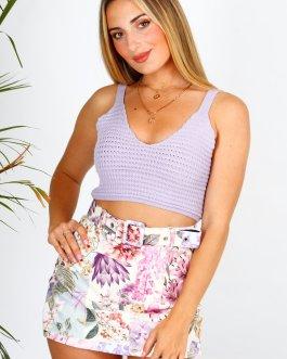 Falda/Pantalón estampado 2805