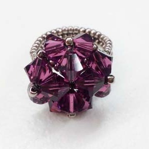 amethyst clover ring 2