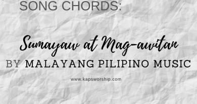 sumayaw magawitan sumabay chords and lyrics by malayang pilipino