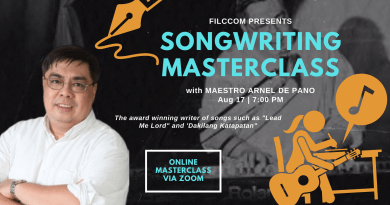 songwriting masterclass by arnel de pano