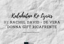 kalahatan ko lyrics by rachel de vera