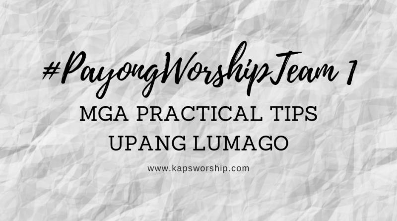 worship team training practical tips