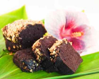Double Chocolate Macadamia Nut Bread