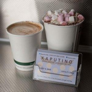 Kaputino Loyalty Card - Kaputino Cappuccino and Hot Chocolate