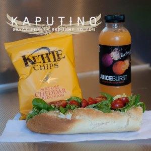 meal deals from Kaputino coffee van