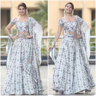 Jacqueline Fernandez rocking the lehnga choli