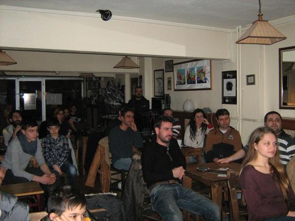 Eskişehir Karagöz gösterimiz ve seyirciler