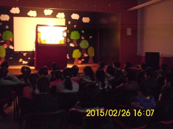 İstanbul Esenyurt Merkez Ortaokulu Karagöz Gösterimiz