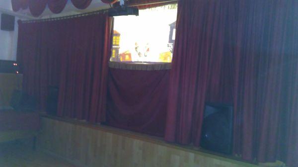 Karatekin İlkokulu karagöz gösterisi