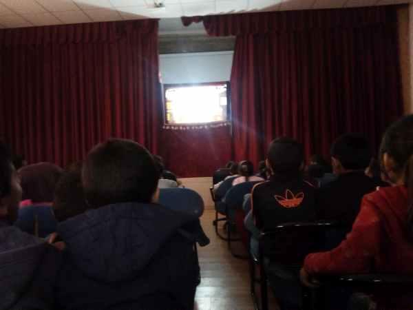 Mardin Cahit Zarifoğlu İmam Hatip Ortaokulu Karagöz gösterilerimiz