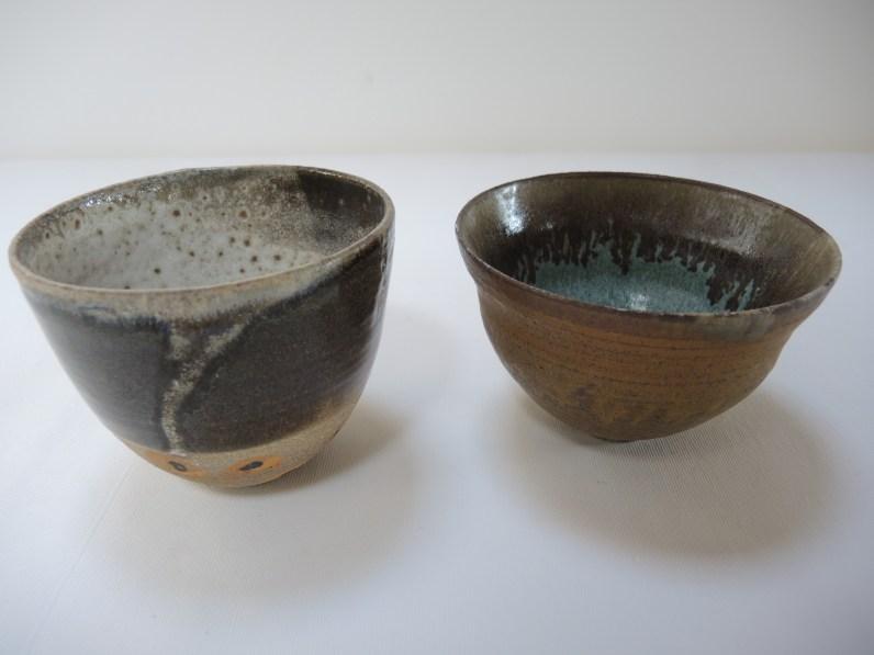 bowl h. 10cm d. 12.5cm bowl h. 8.5cm d.14cm 2