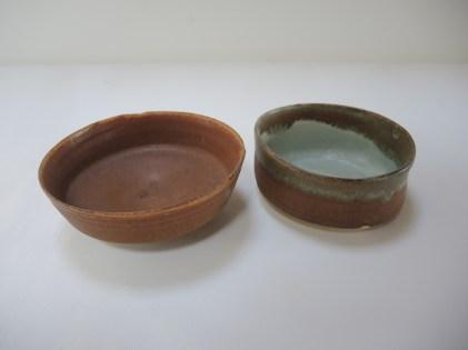 bowl h. 5cm d.14cm bowl2 5.5cm d.12.5cm 2