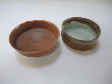 bowl h. 5cm d.14cm bowl2 5.5cm d.12.5cm