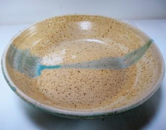 Plate. Diameter 43 cm.