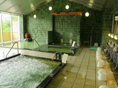 神の湯温泉大浴場
