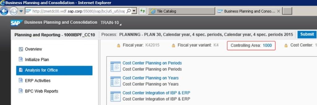 SAP BPC IBP - BPF