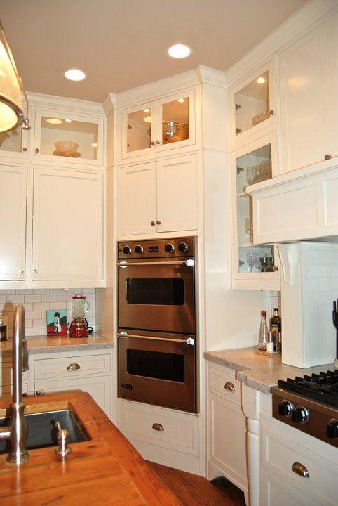 Upscale Farmhouse - Kitchen Cabinets Pantry