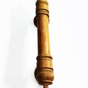 Kararam Handcrafted WOOD Door HANDLE(Holder/Knob), Cabinet, Closet, Teak, 202-1200-mm or 8-47-inch Width, 2-100-PCS