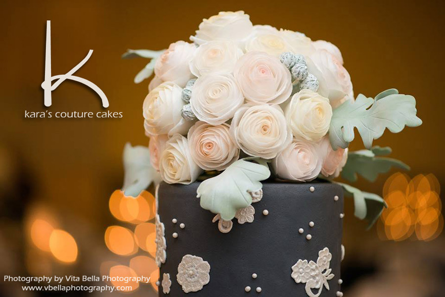 Wafer Paper Bouquet Roses Kara S Couture Cakes