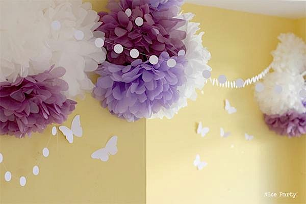 Purple Themed Bridal Shower