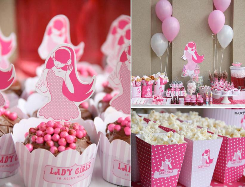 Karas Party Ideas Pink Girl Tween 10th Birthday Party