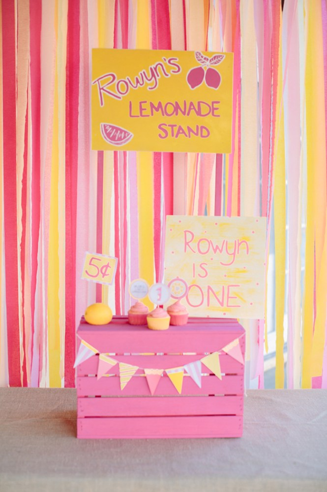 Pink Lemonade Themed Birthday Party Via Kara 39 S Ideas Karaspartyideas Com Printables Invitation