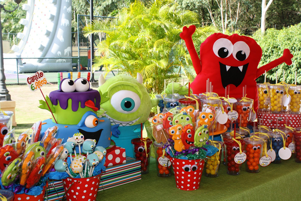 Kara S Party Ideas Monster Birthday Party Supplies Ideas Planning Idea Cake Decorations