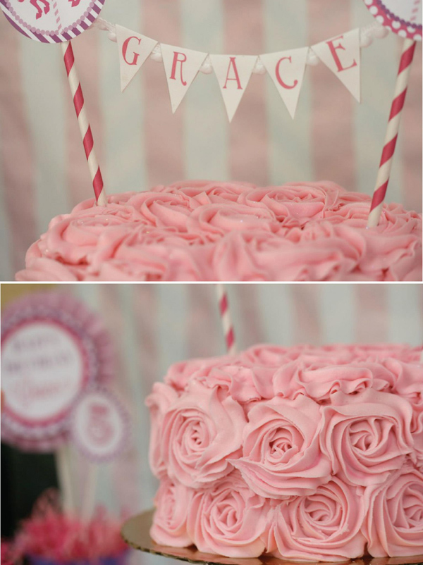 Karas Party Ideas Pink And Purple Carousel Birthday Party
