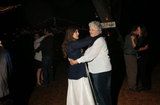 Kara and Grandma dancing at Stefen and Kara's wedding