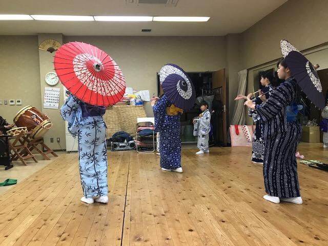 山あげ祭 練習風景
